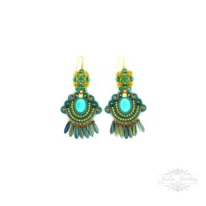 Boho Chic Fringe Earrings