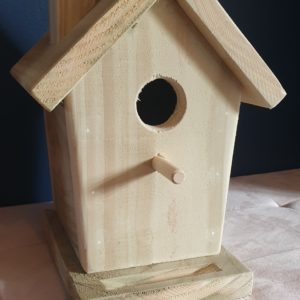 Timber Bird House